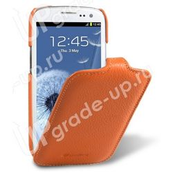 Чехол-книжка для Samsung Galaxy S4 Activ/i9295 Melkco Orange LC 57
